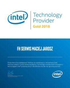 Intel Gold Partner 2018