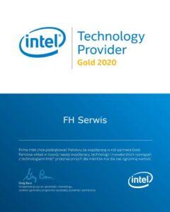 Intel Gold Partner 2020