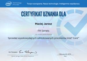 Intel Technology Provider 2019